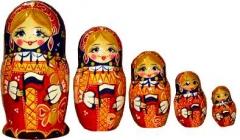 Матрешка Россиянка 031505