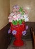 Большая ваза с ромашками